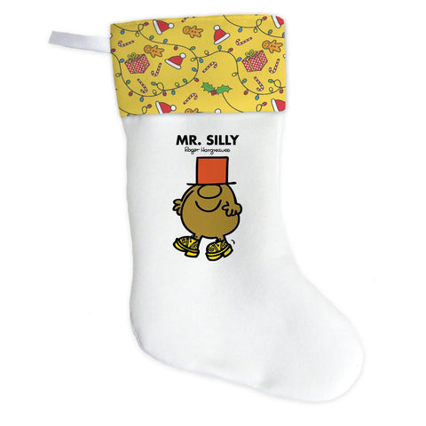 Mr. Silly Christmas Stocking (Front)