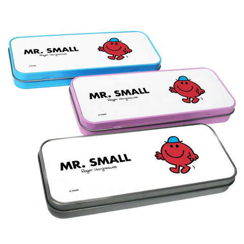 Mr. Small Pencil Case Tin