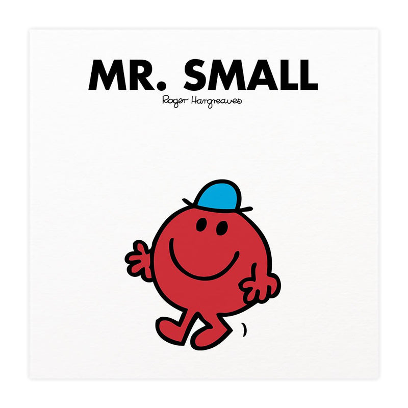 Mr. Small Mounted Art Print