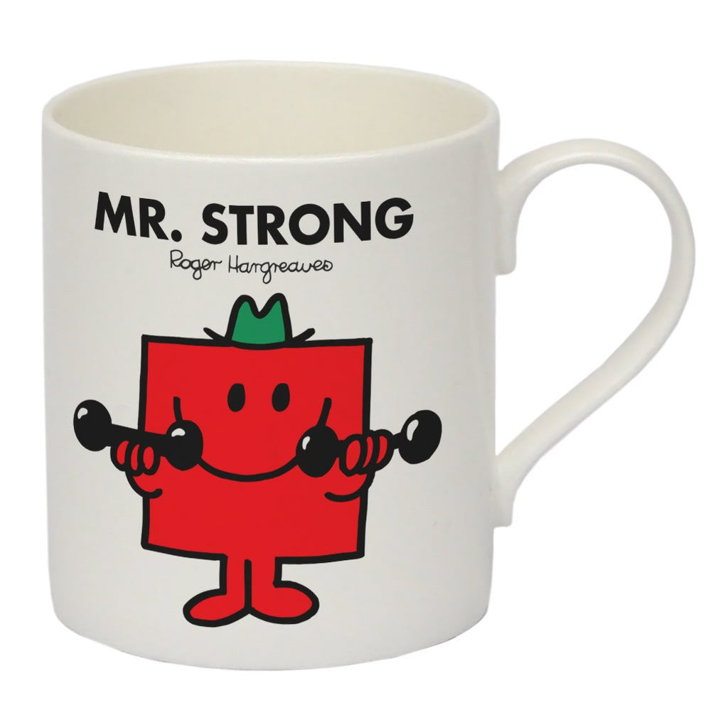 Mr. Strong Bone China Mug