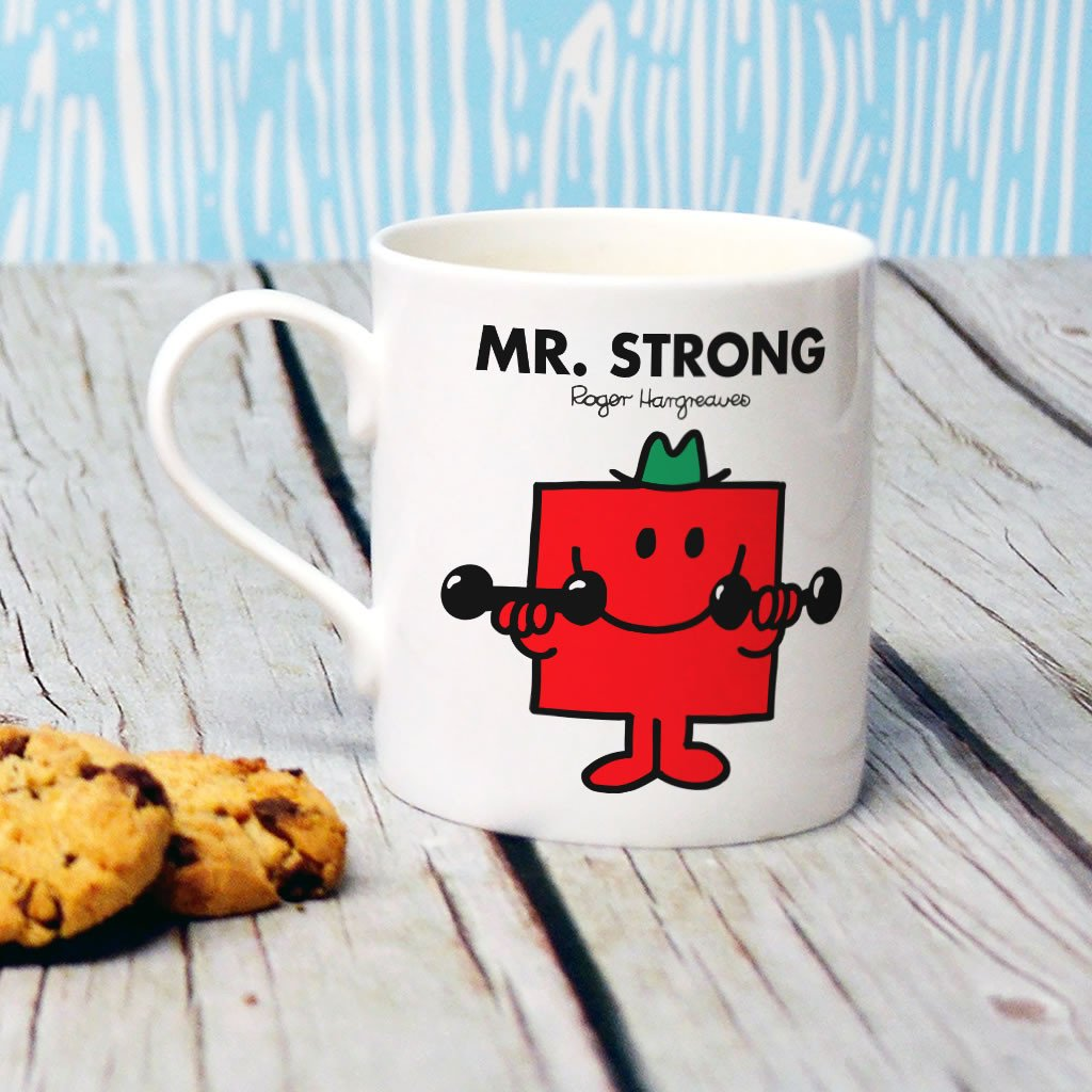 Mr. Strong Bone China Mug (Lifestyle)