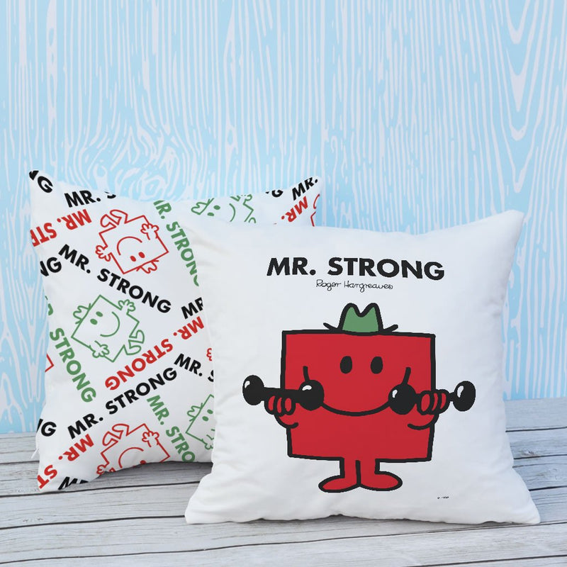 Mr. Strong Micro Fibre Cushion (Lifestyle)