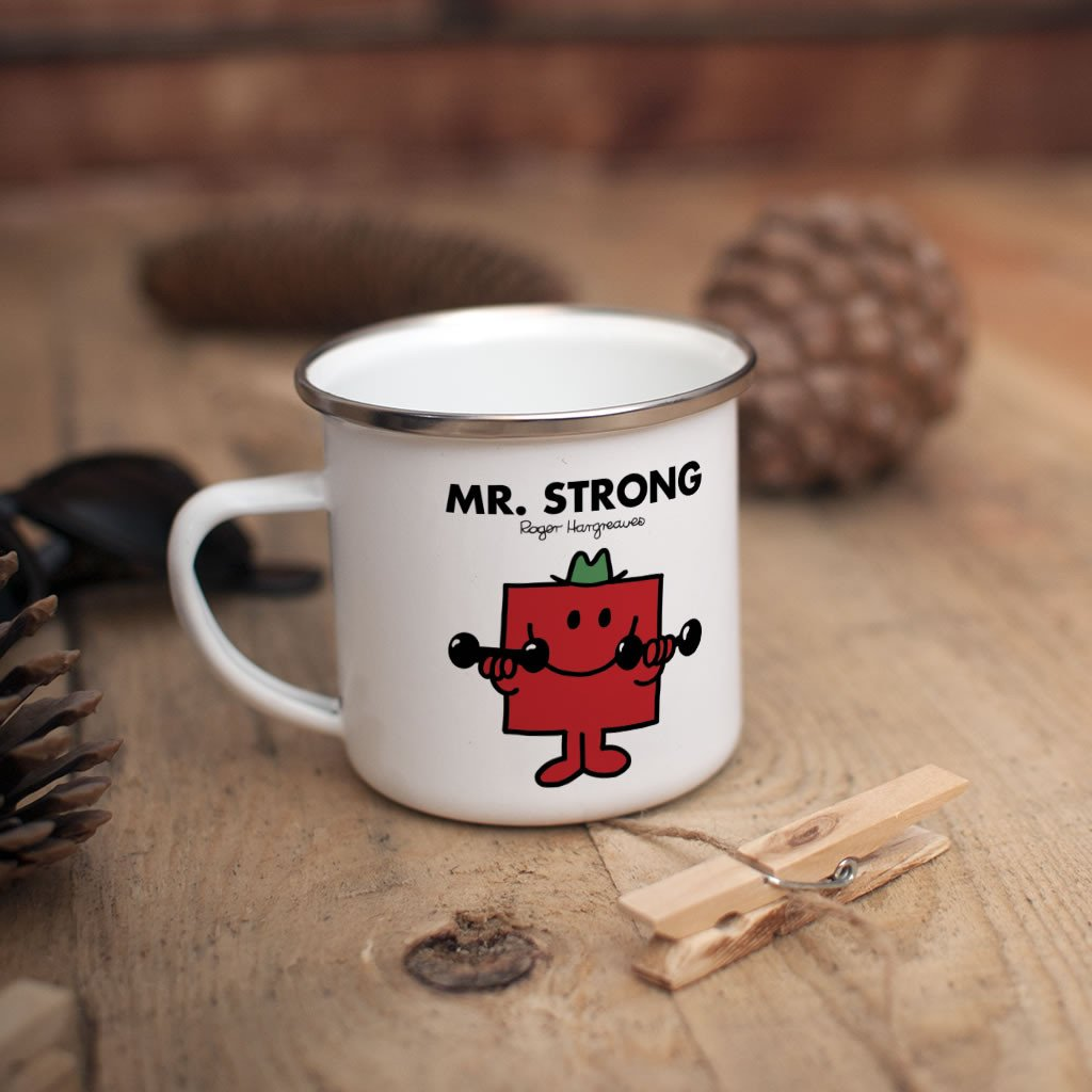 Mr. Strong Children's Mug (Lifestyle)
