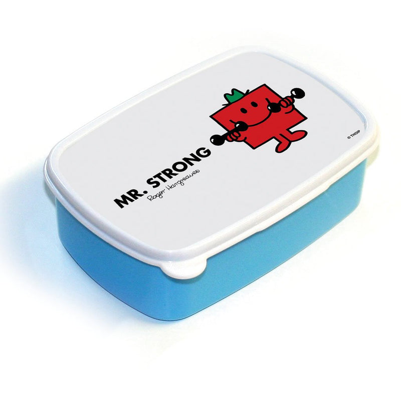 Mr. Strong Lunchbox (Blue)