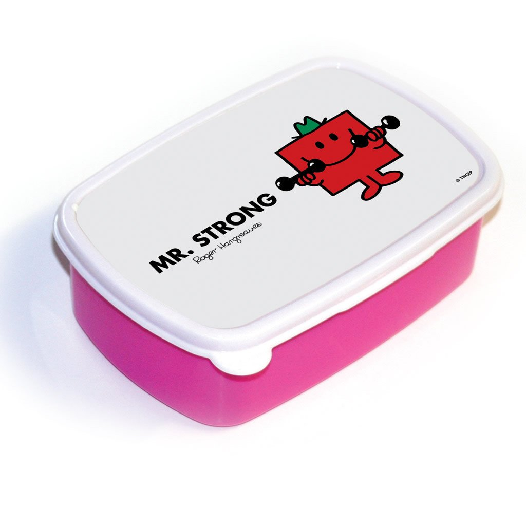 Mr. Strong Lunchbox (Pink)