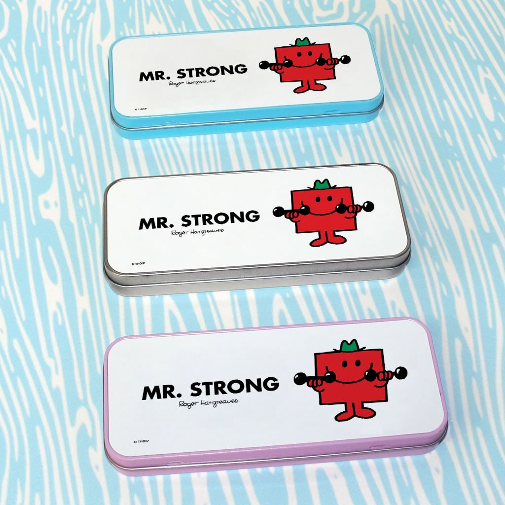 Mr. Strong Pencil Case Tin (Lifestyle)