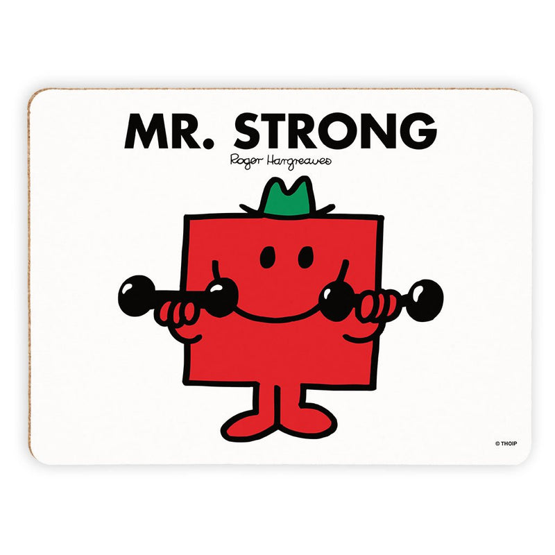 Mr. Strong Cork Placemat