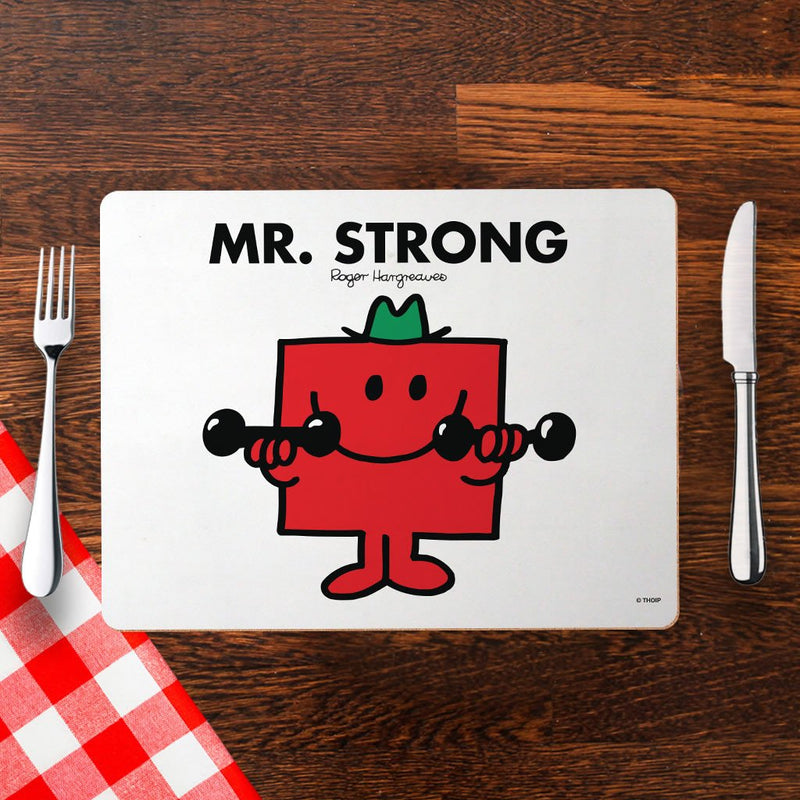 Mr. Strong Cork Placemat (Lifestyle)