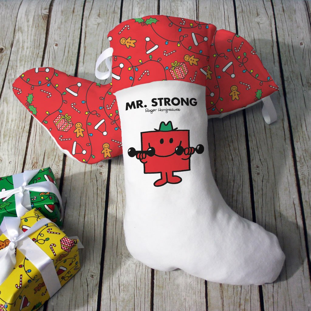 Mr. Strong Christmas Stocking (Lifestyle)