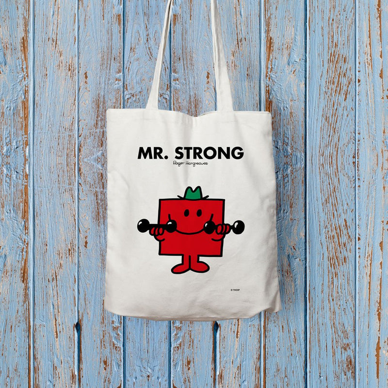Mr. Strong Long Handled Tote Bag (Lifestyle)