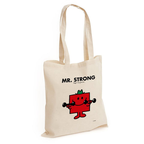 Mr. Strong Long Handled Tote Bag