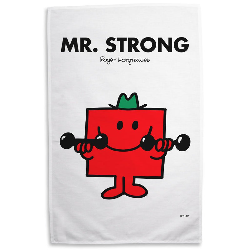 Mr. Strong Tea Towel