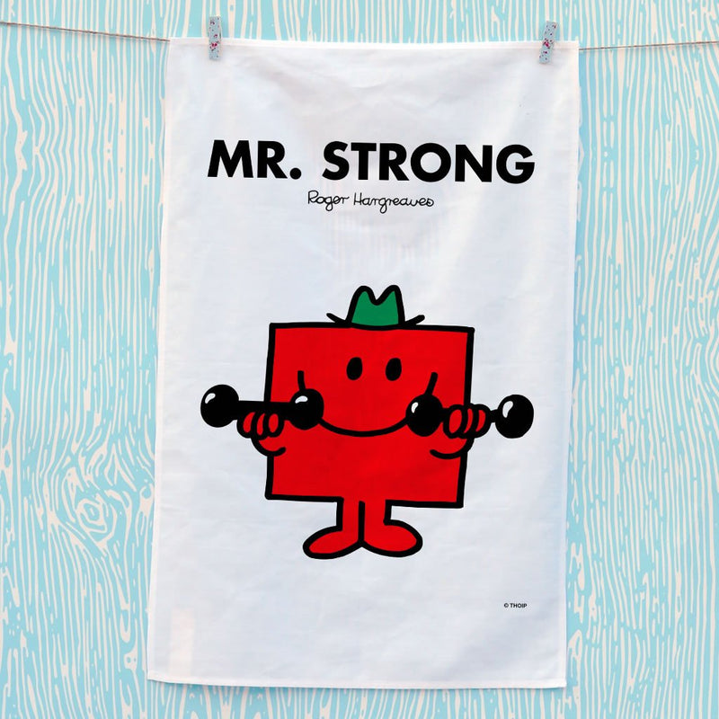 Mr. Strong Tea Towel (Lifestyle)