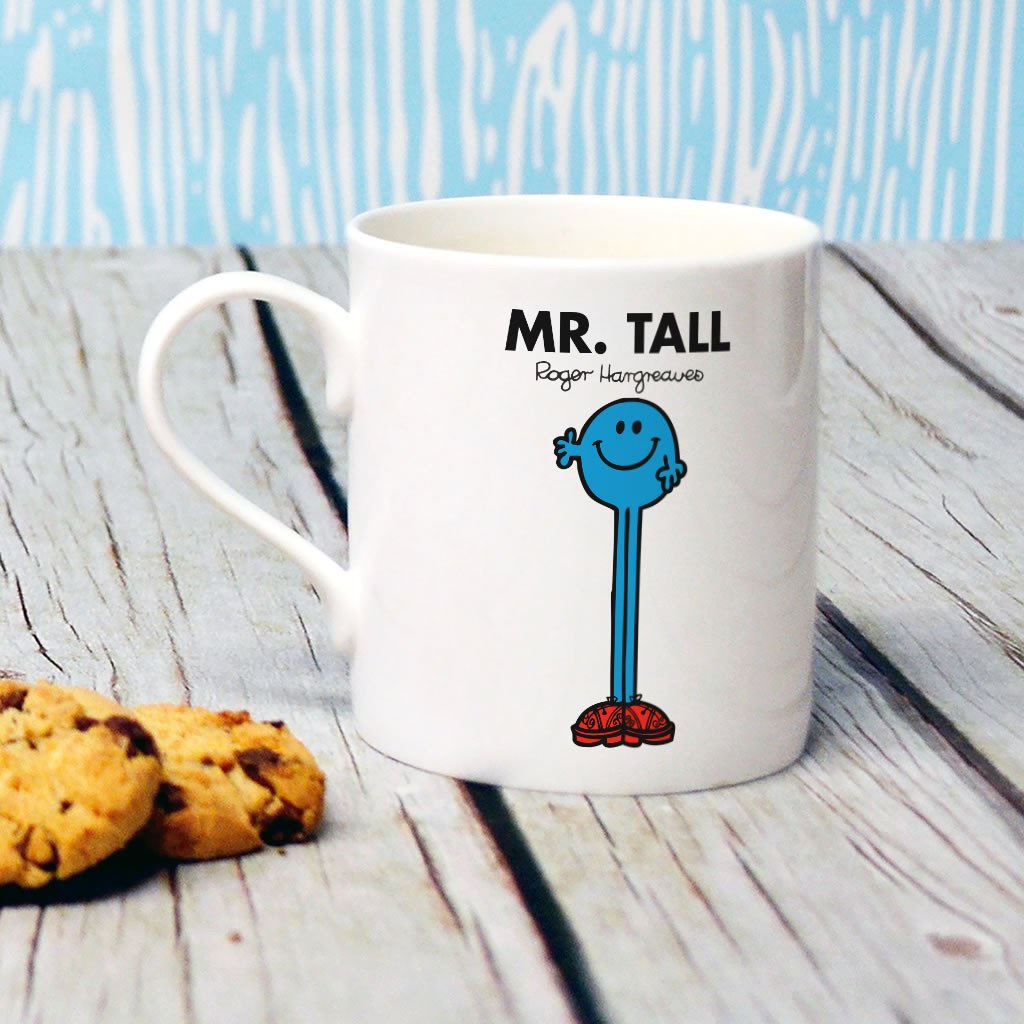 Mr. Tall Bone China Mug (Lifestyle)