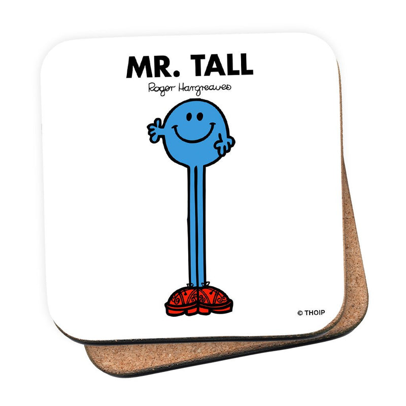 Mr. Tall Cork Coaster