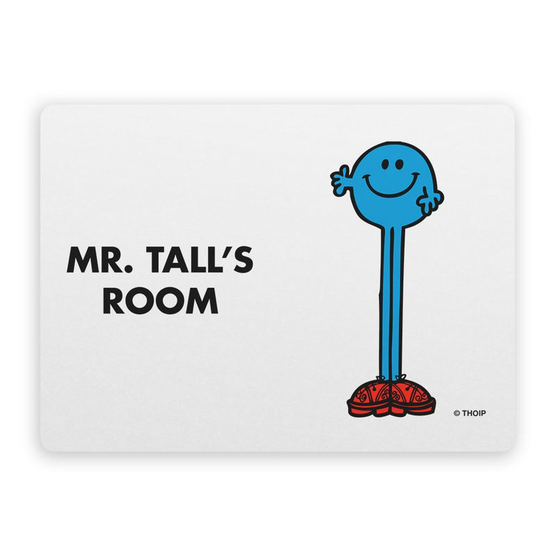 Mr. Tall Door Plaque