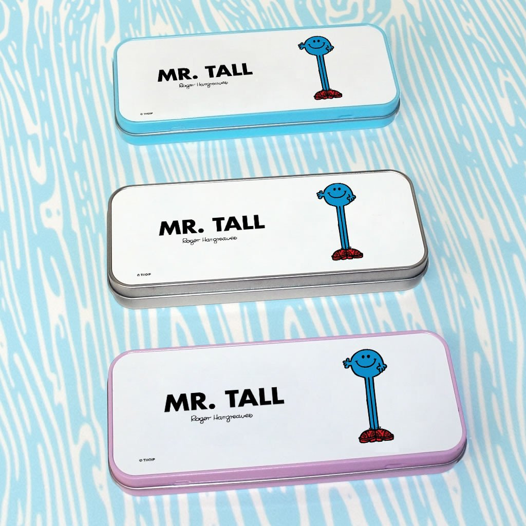 Mr. Tall Pencil Case Tin (Lifestyle)