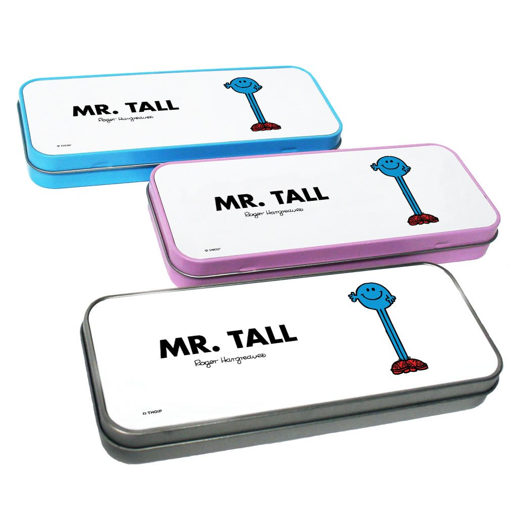 Mr. Tall Pencil Case Tin