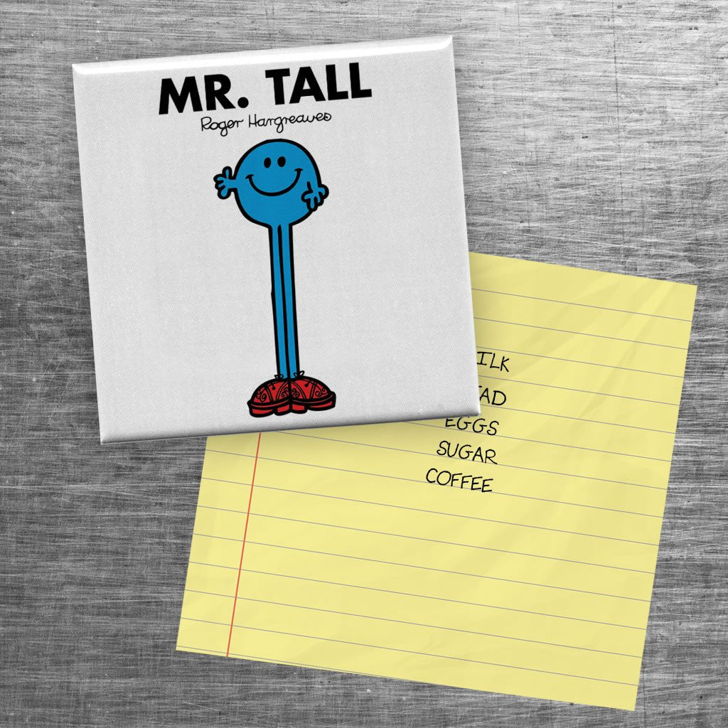 Mr. Tall Square Magnet (Lifestyle)