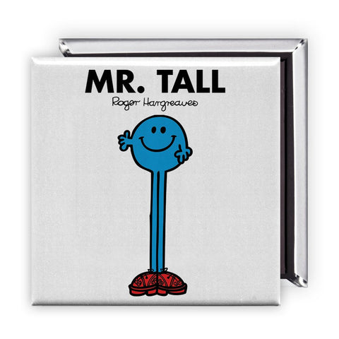 Mr. Tall Square Magnet