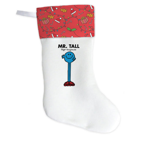 Mr. Tall Christmas Stocking (Front)