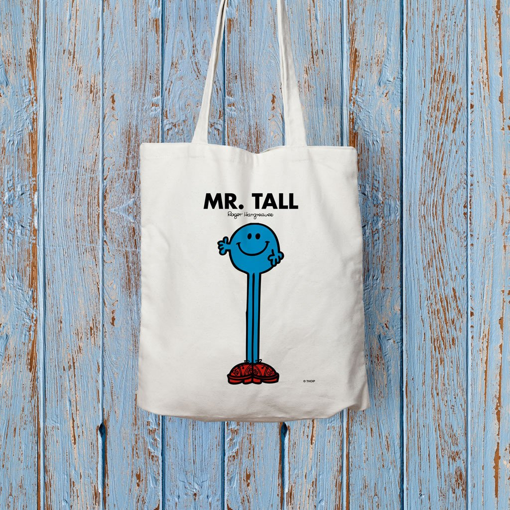 Mr. Tall Long Handled Tote Bag (Lifestyle)