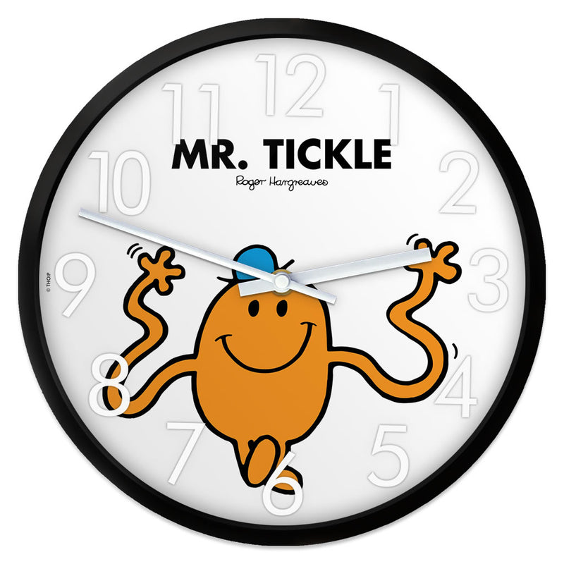 Mr. Tickle Personalised Clock