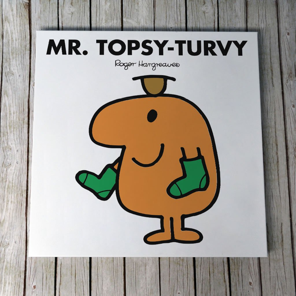 Mr. Topsy-turvy Canvas (Lifestyle)
