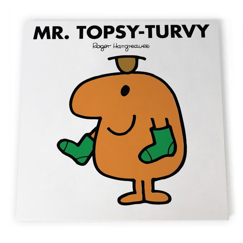 Mr. Topsy-turvy Canvas