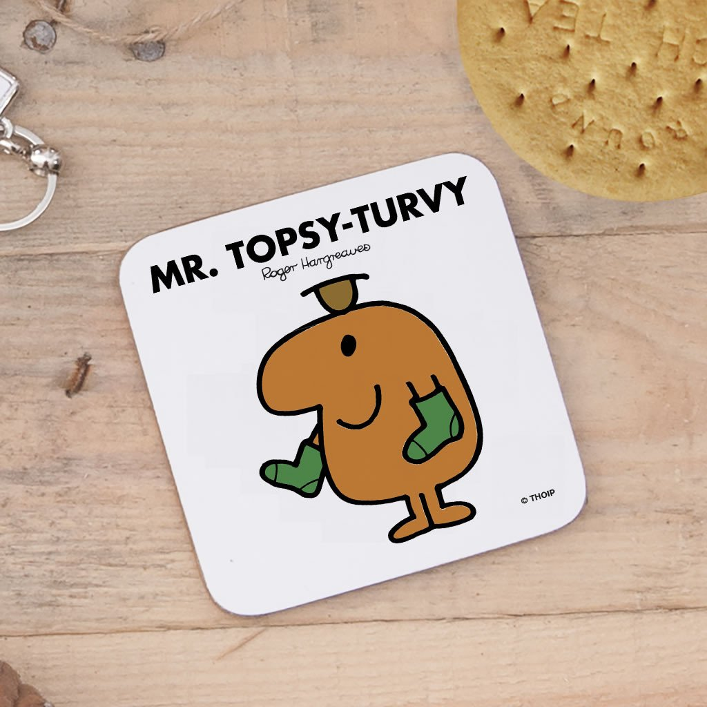 Mr. Topsy-turvy Cork Coaster (Lifestyle)