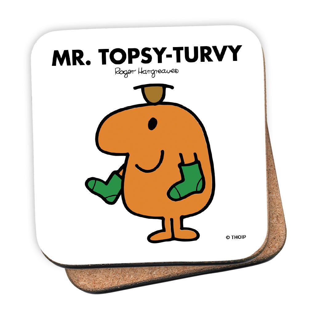 Mr. Topsy-turvy Cork Coaster