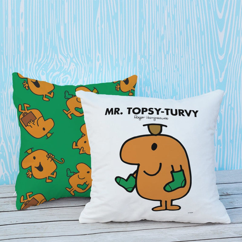 Mr. Topsy-turvy Micro Fibre Cushion (Lifestyle)