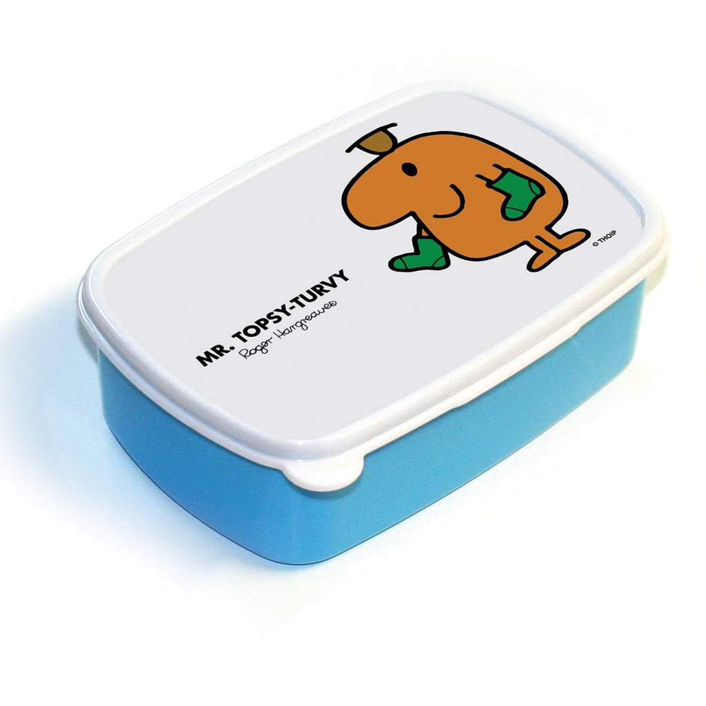 Mr. Topsy-turvy Lunchbox (Blue)