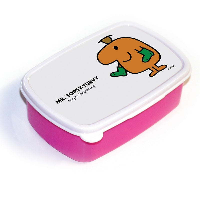 Mr. Topsy-turvy Lunchbox (Pink)