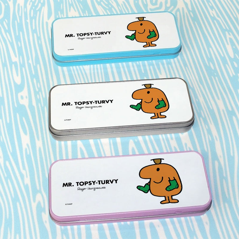 Mr. Topsy-turvy Pencil Case Tin (Lifestyle)