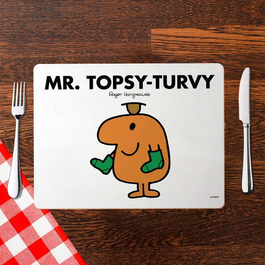Mr. Topsy-turvy Cork Placemat (Lifestyle)