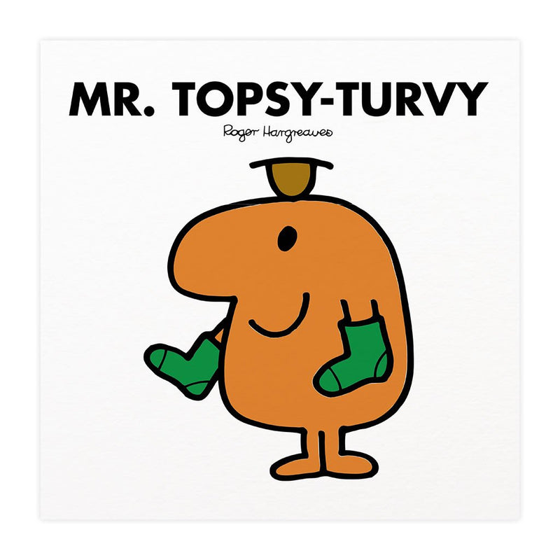 Mr. Topsy-turvy Mounted Art Print