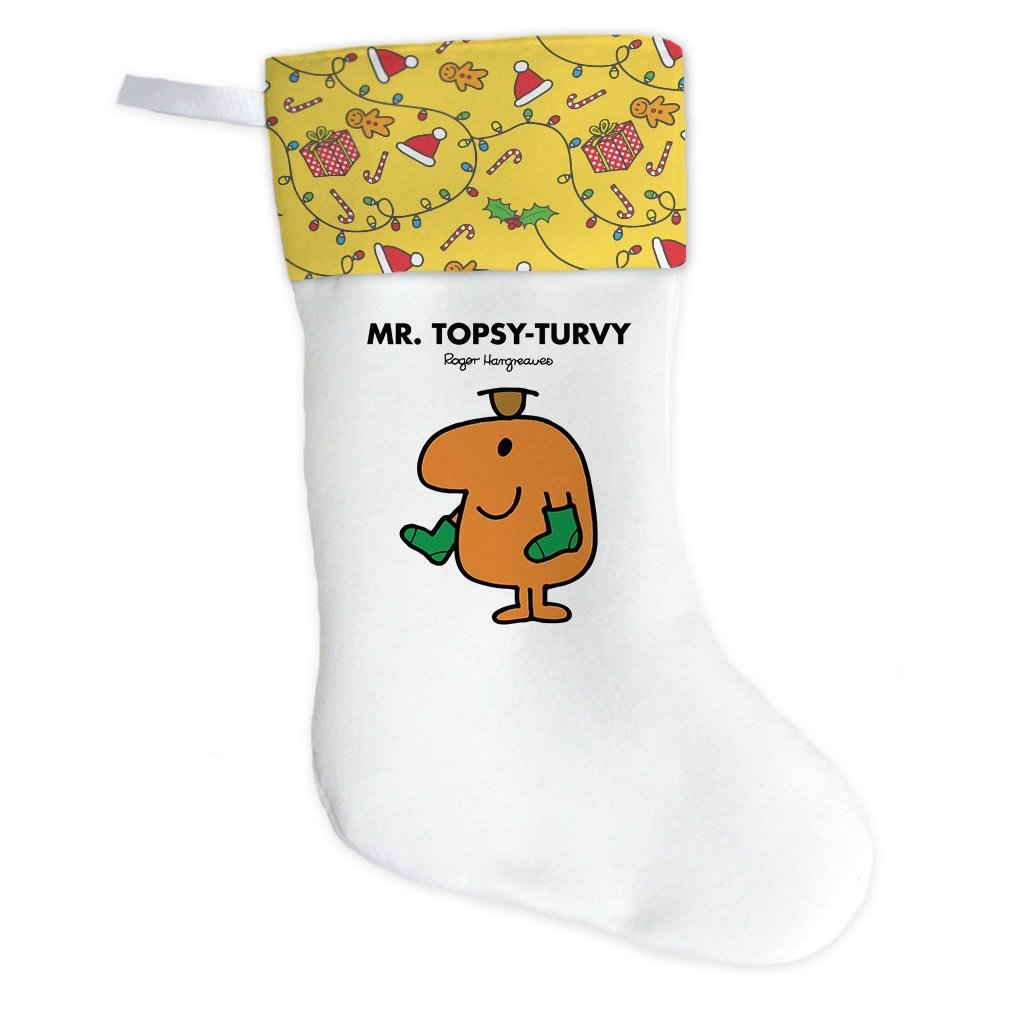 Mr. Topsy-turvy Christmas Stocking (Front)