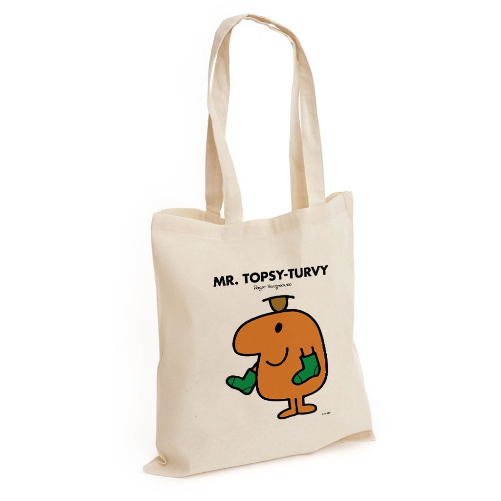 Mr. Topsy-turvy Long Handled Tote Bag