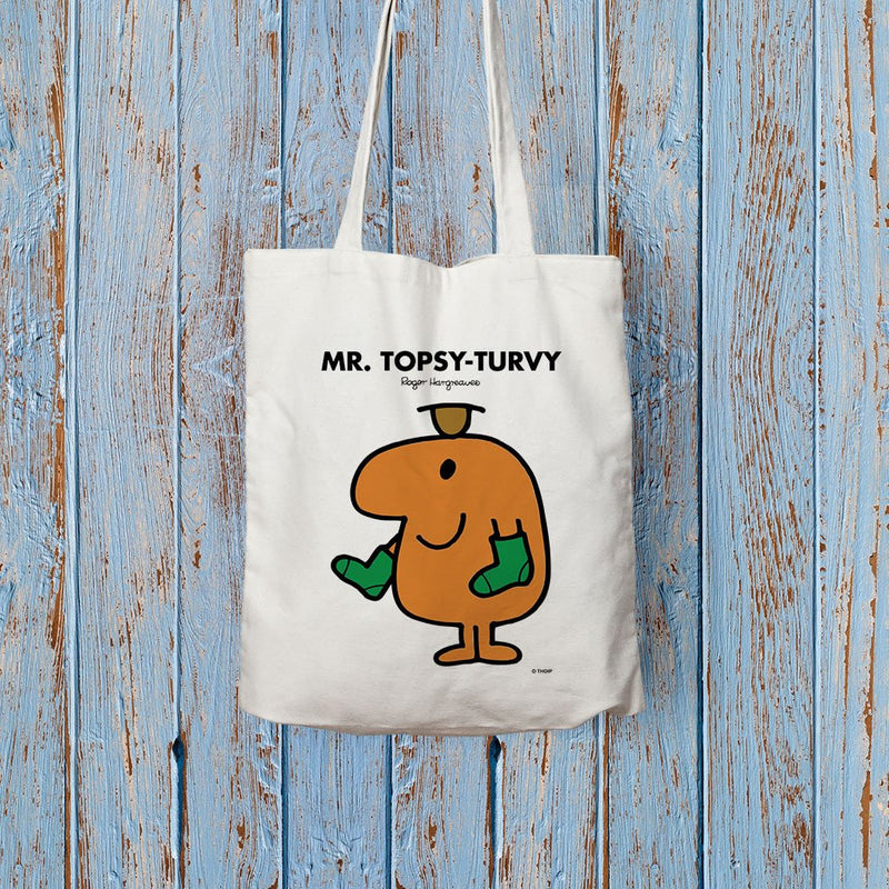 Mr. Topsy-turvy Long Handled Tote Bag (Lifestyle)