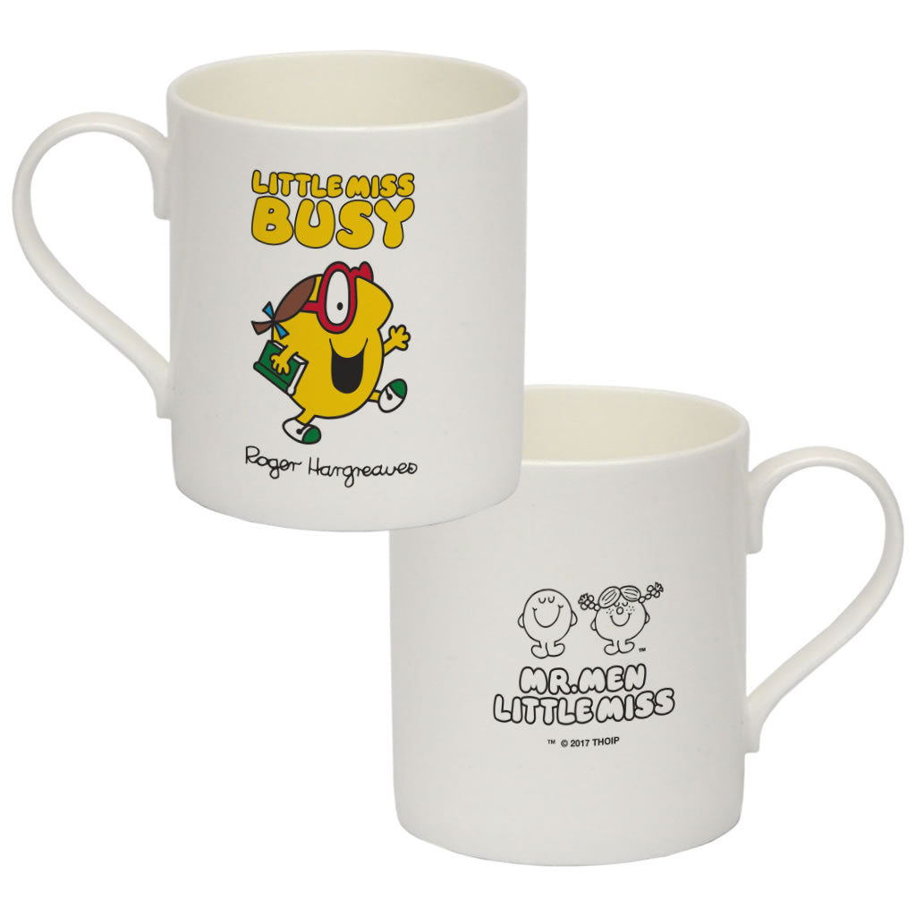 Little Miss Busy Big Bone China Mug