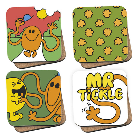 Mr. Tickle and Friends Coasters 4 Pack