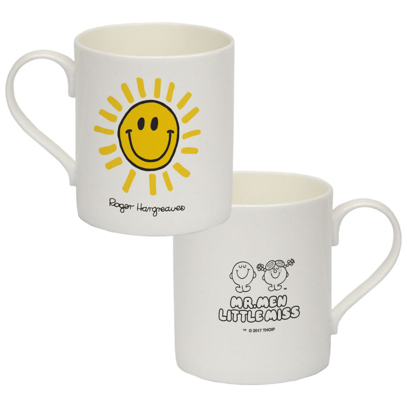 Happyland Sun Big Bone China Mug