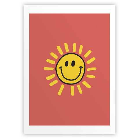 Happyland Sunshine Art Print