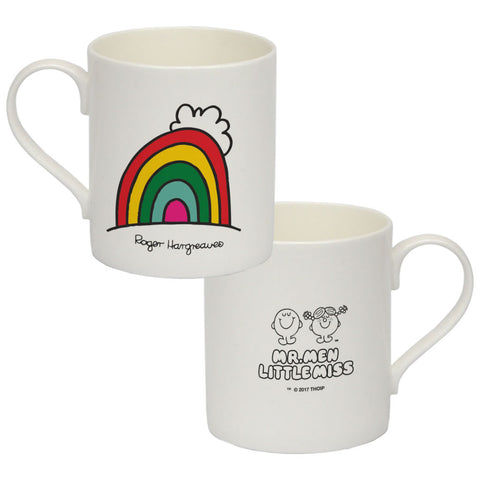 Happyland Rainbow Big Bone China Mug
