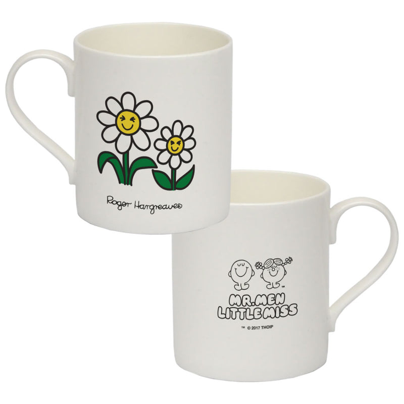 Laughing Daisies Big Bone China Mug