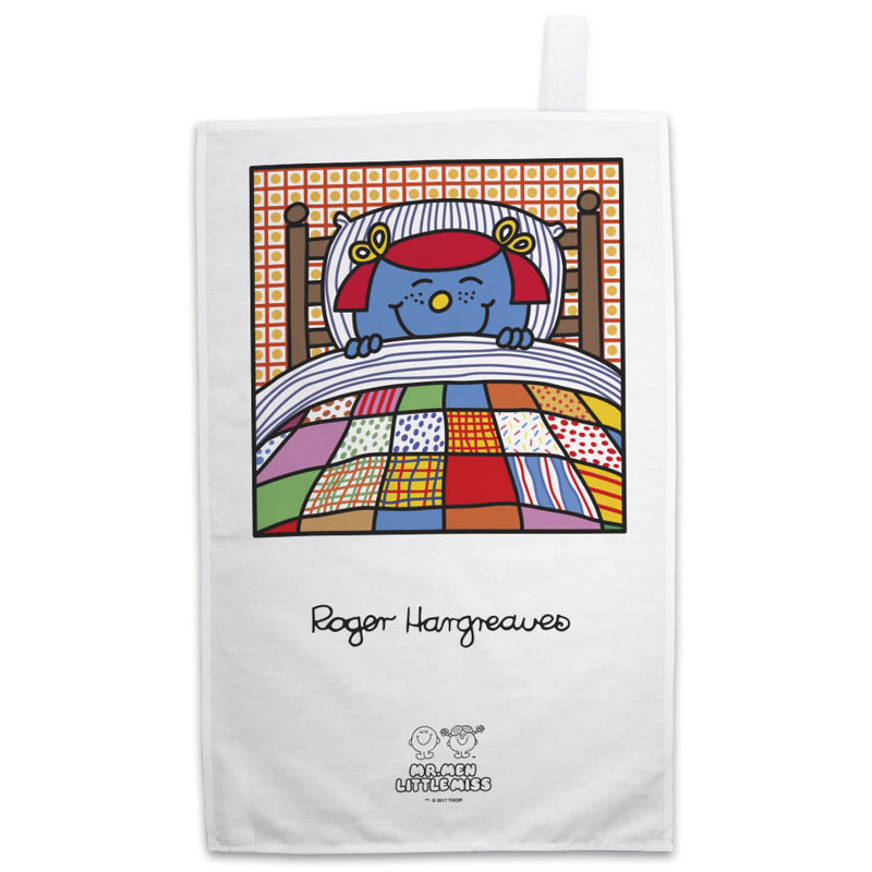 Little Miss Giggles Bed Tea Towel