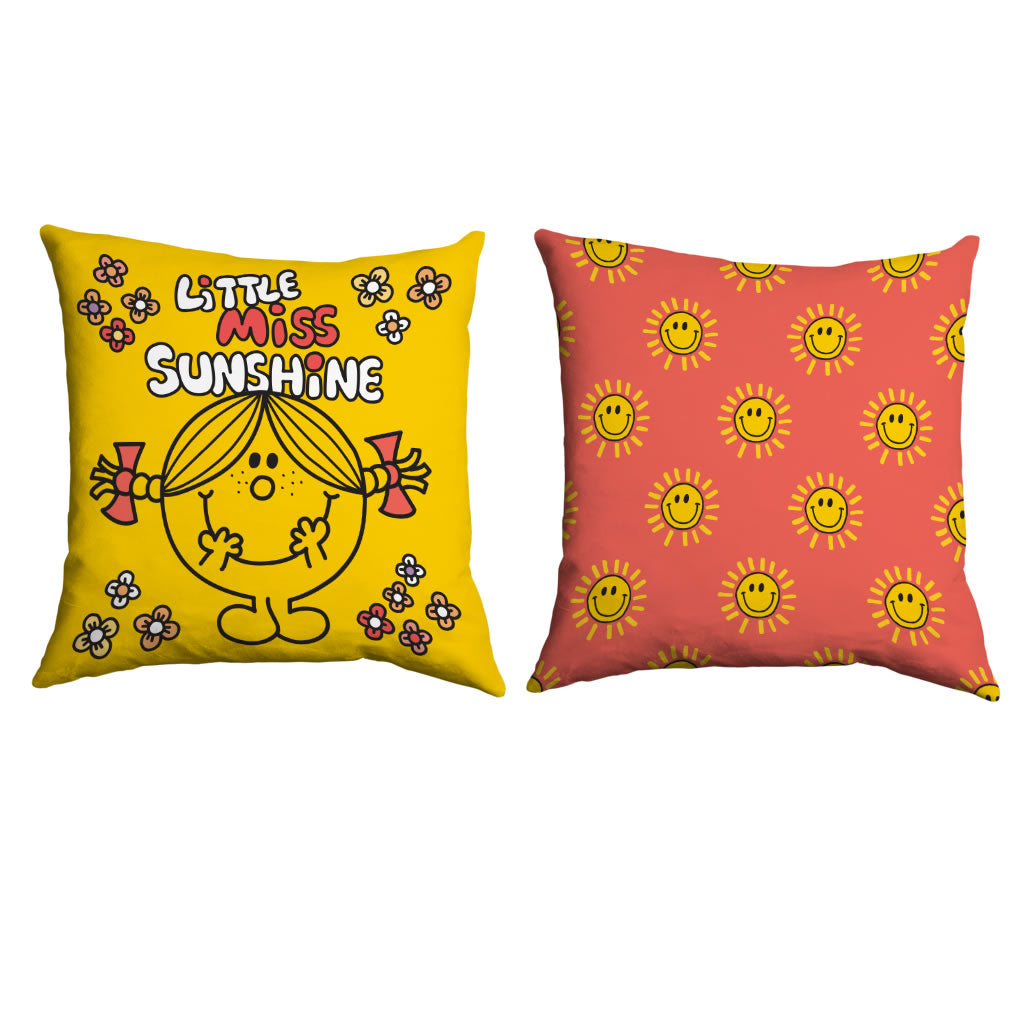 Little Miss Sunshine Retro Cushion