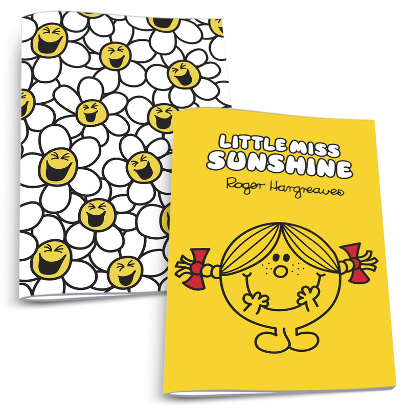 Little Miss Sunshine and Laughing Daisies Notebook 2 Pack