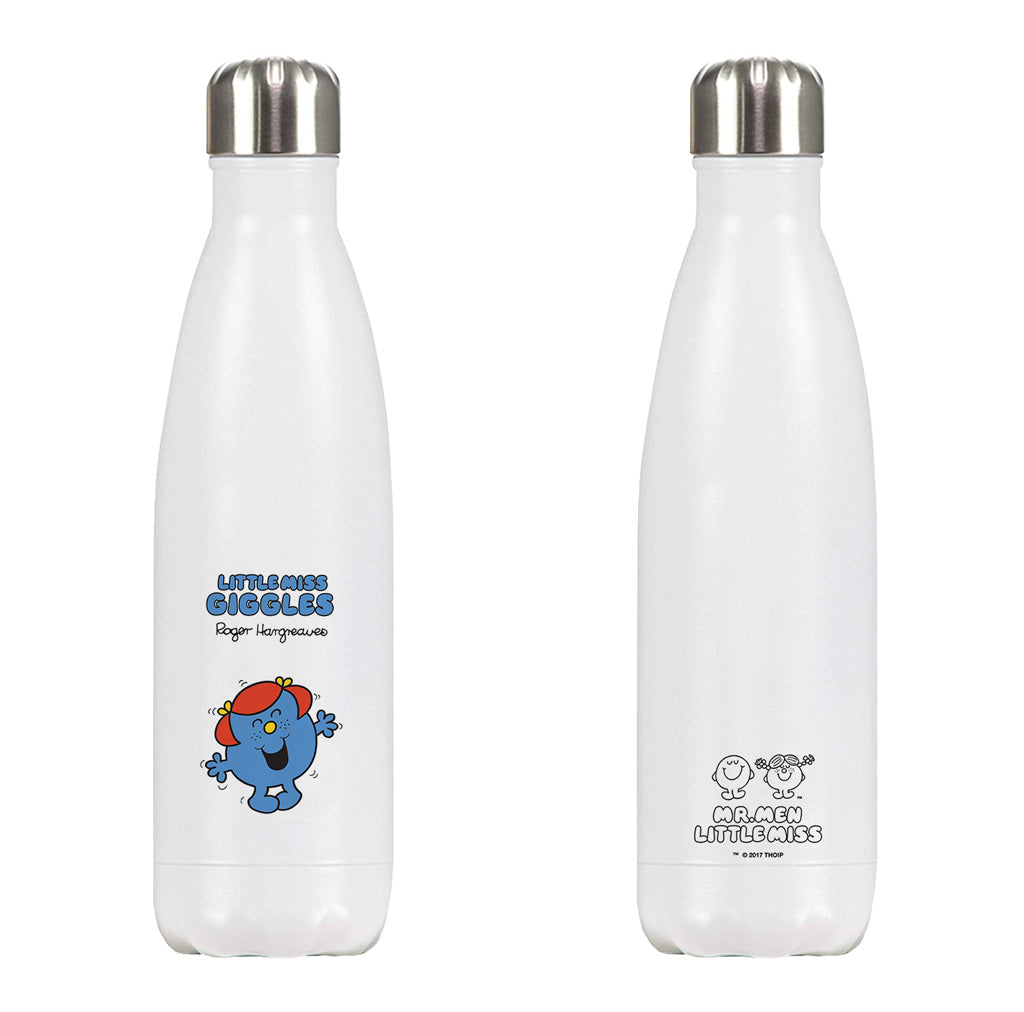 Little Miss Giggles Retro Premium Water Bottle